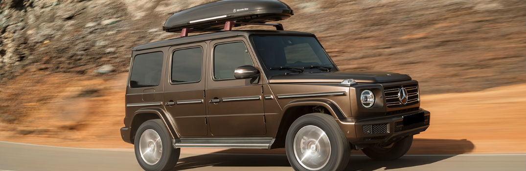 2019 MB G-Class on the road