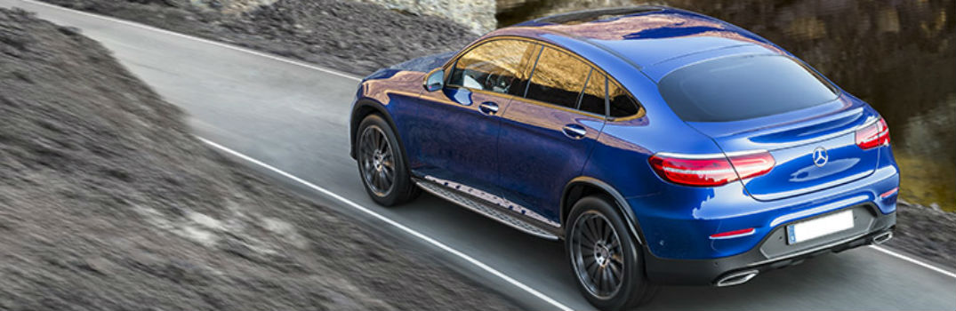 2019 Mercedes-Benz GLC on the road