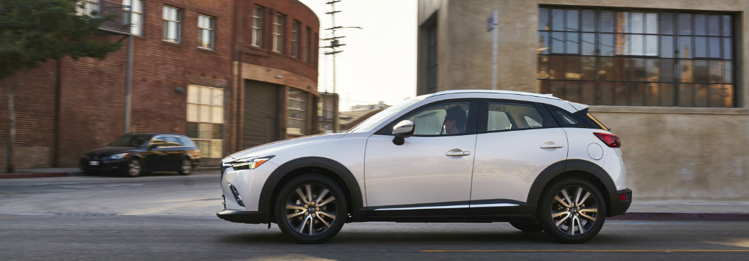 2018 Mazda CX3 technology