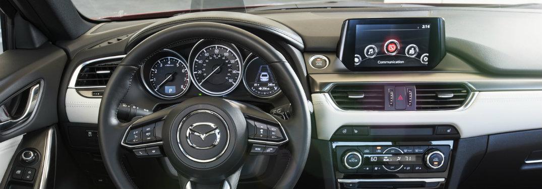 mazda6 interior, steering wheel