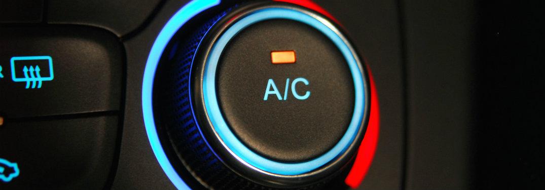car's a/c dial