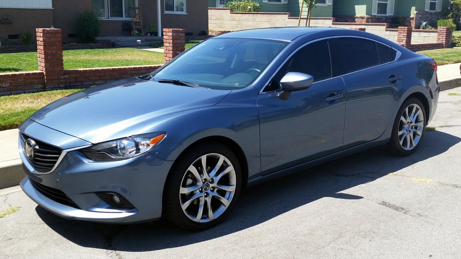 Mazda6 with tinted windows