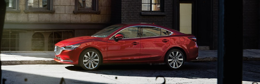 What are the color options available on the 2019 Mazda6?