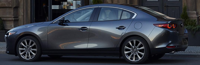 2019 Mazda3 parked on street