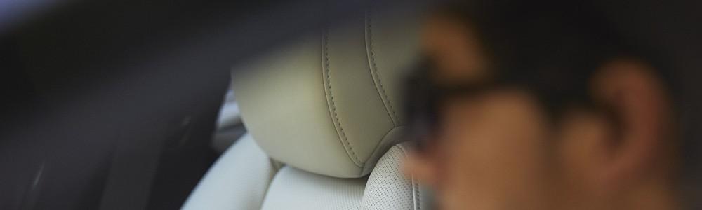 man in the 2020 Mazda3