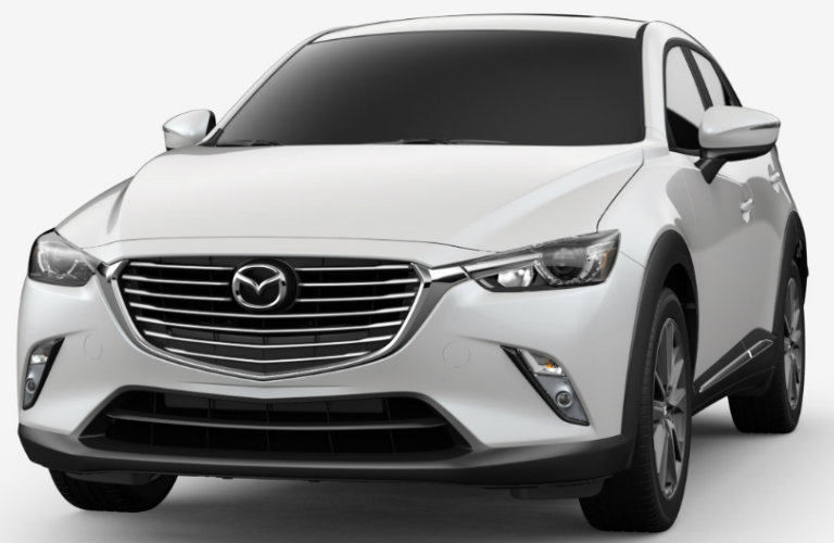 2018 Mazda CX-3 body paint colors and interior seat trimming options