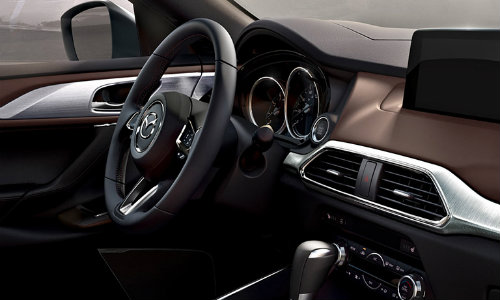 2018 mazda cx 9 trim options for exterior and interior features. Black Bedroom Furniture Sets. Home Design Ideas