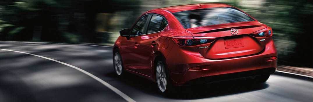 2018 Mazda3 Forest Driving