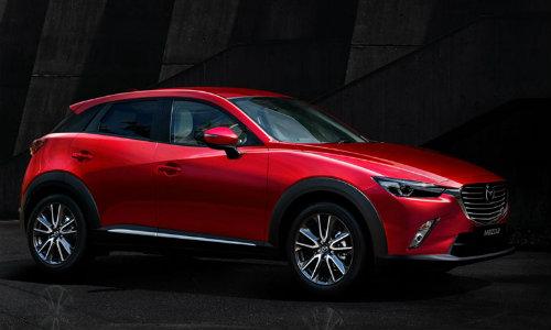 2018 Mazda CX-3 in dark showroom