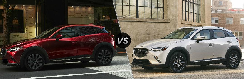 2019 Mazda CX-3 vs 2018 Mazda CX-3