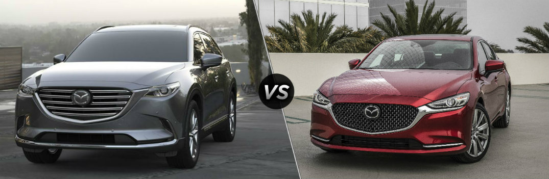 Is the Mazda CX-9 or the Mazda6 GT More Powerful?