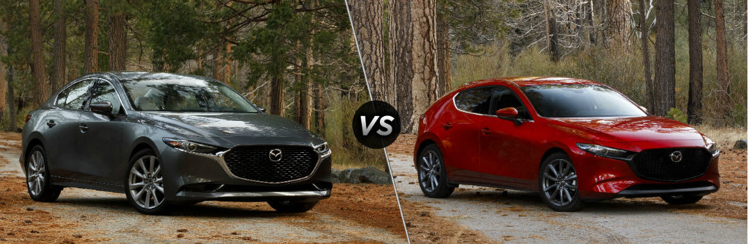 What are the Differences Between the 2019 Mazda3 Sedan and Hatchback?