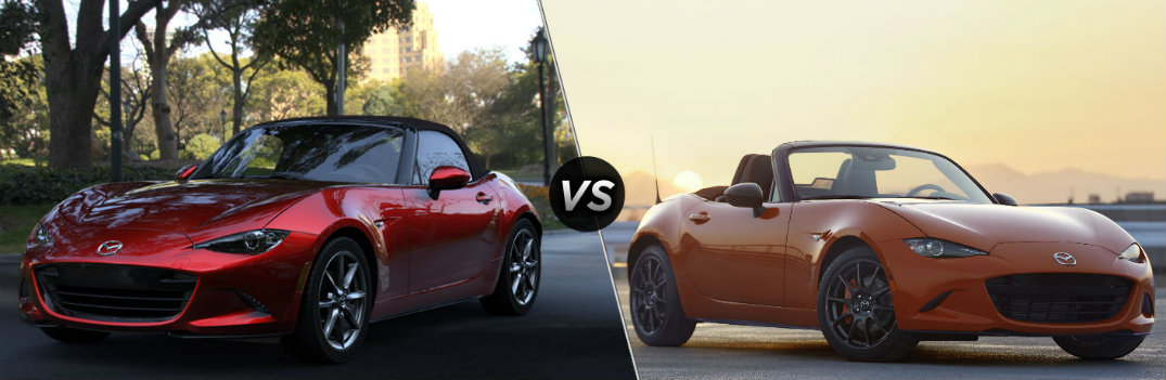 2019 Mazda MX-5 Miata vs 2019 Mazda MX-5 Miata 30th Anniversary