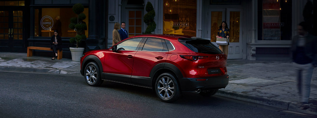 How is the 2020 Mazda CX-30 Different from the Mazda CX-3 and CX-5?