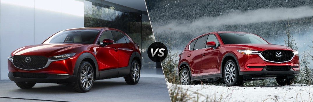 What are the Differences Between the Mazda CX-30 and Mazda CX-5?
