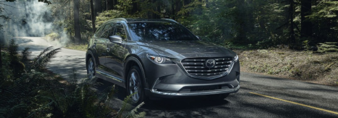 What Infotainment Features were Added to the 2021 Mazda CX-9?