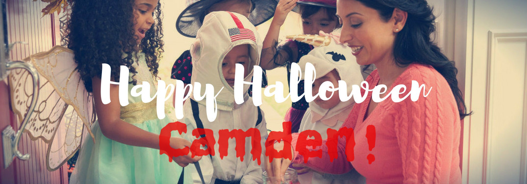 When can you start trick or treating in Camden County?