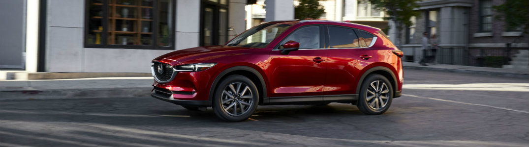2017 Mazda CX-5 red exterior view side