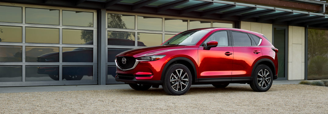 Driver Assistance Features Offered on the 2018 CX-5