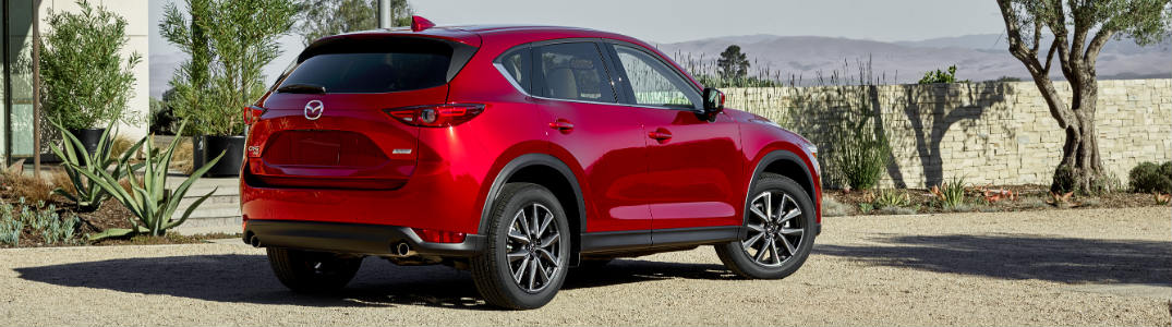 2018 Mazda CX-5 exterior back red