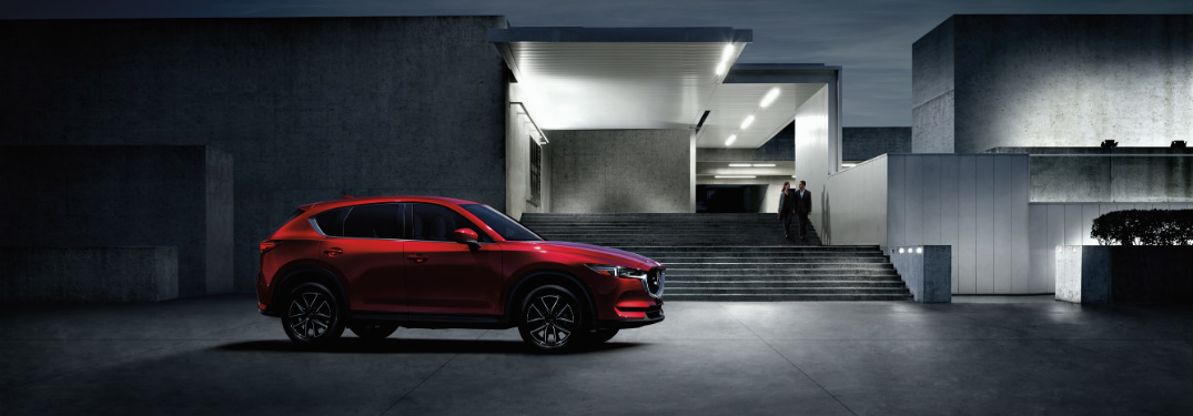 2018 Mazda CX-5 exterior side red