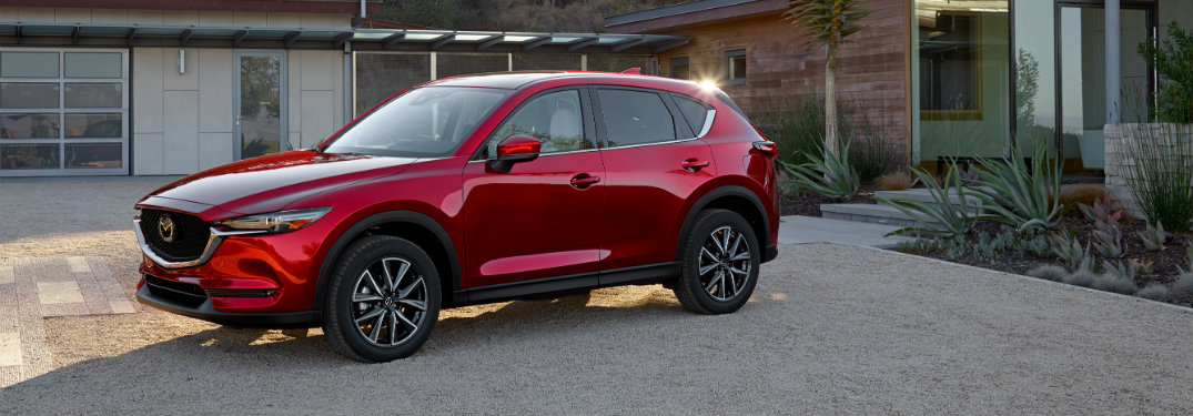 How does the 2018 Mazda CX-5 Lane Departure Assist system work?
