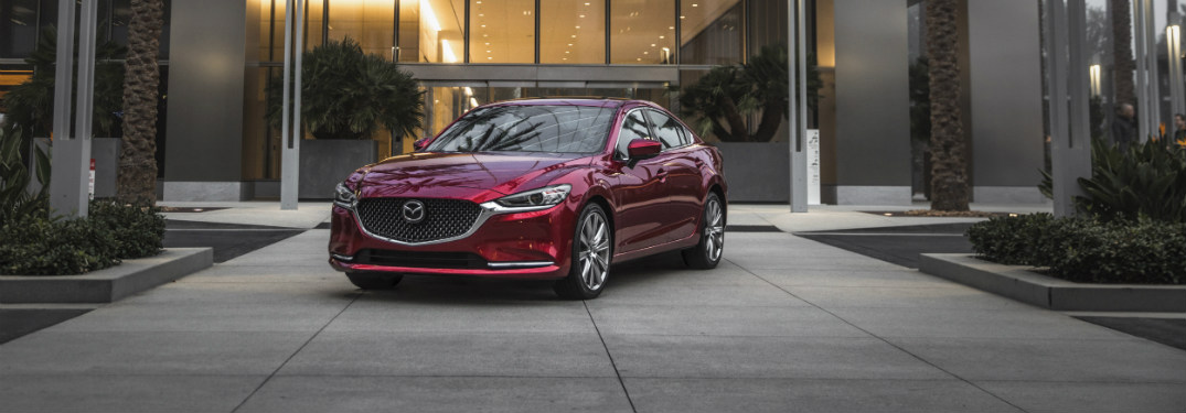 2018 Mazda6 parked exterior front