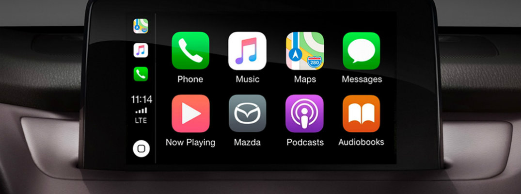 Apple CarPlay in the 2019 Mazda CX-9