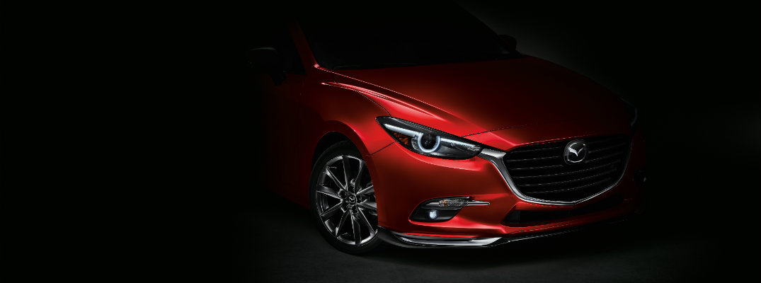 2017 Mazda3 in the shadow