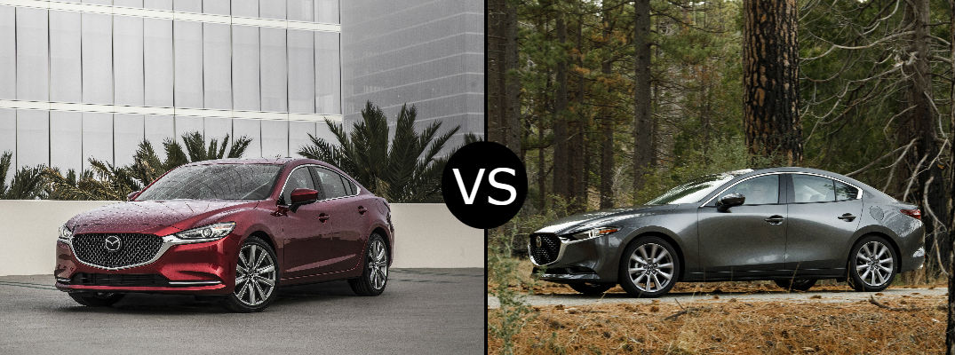 Here's what distinguishes the Mazda3 from the Mazda6