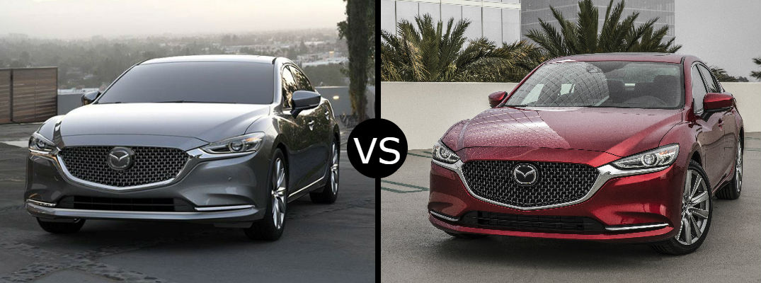 What's the difference between the 2019 vs. 2018 Mazda6?