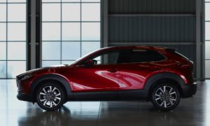 2020 Mazda CX-30 in front of a window