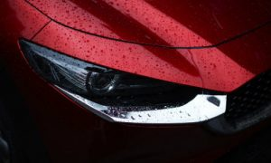 Detail of the 2019 Mazda CX-30