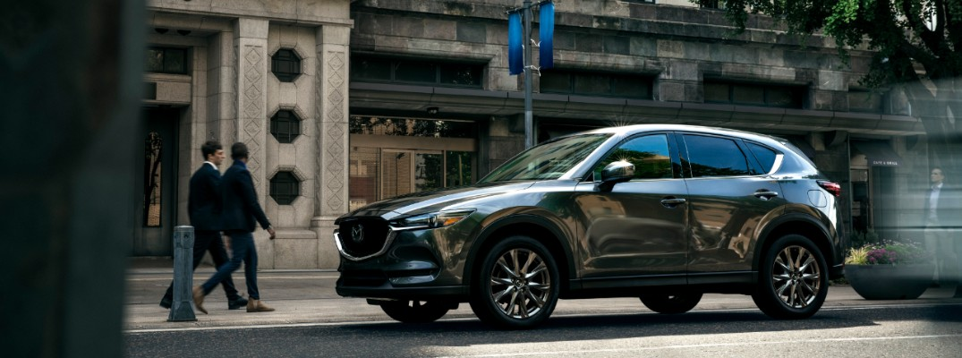 2019 Mazda CX-5 Signature parked downtown