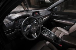 Dashboard of the 2019 Mazda CX-5 Signature
