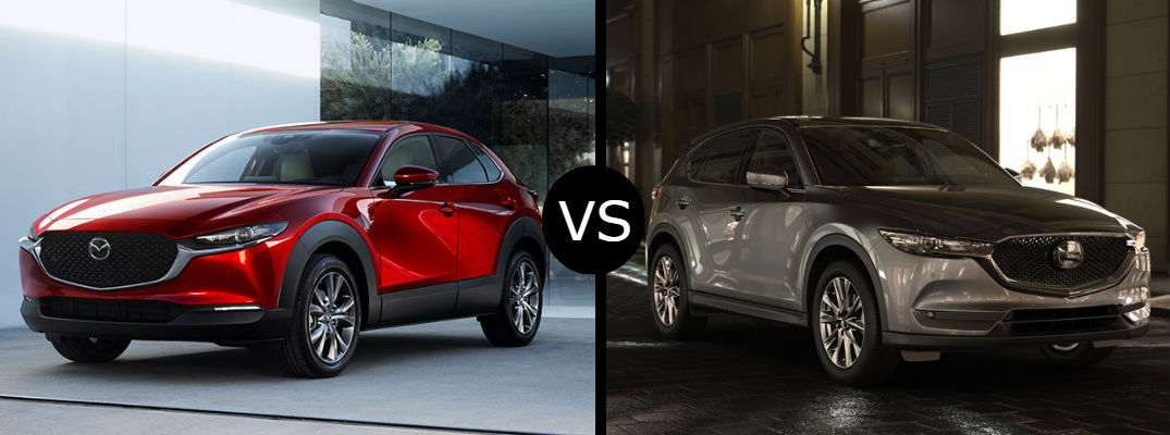 What is the difference between the 2020 Mazda CX-30 vs CX-5?