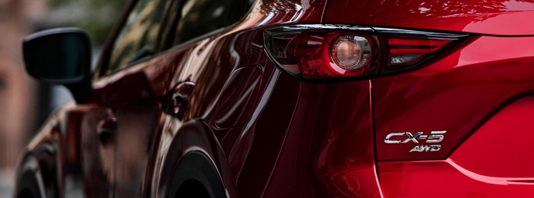 Exterior of the 2020 Mazda CX-5