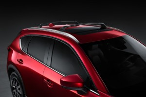 Roof racks on the 2020 Mazda CX-5