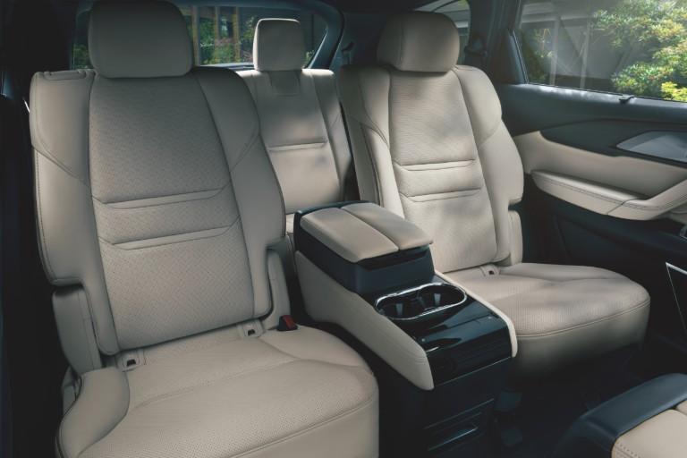 Cabin of the 2020 Mazda CX-9