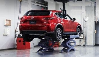 Mazda service center