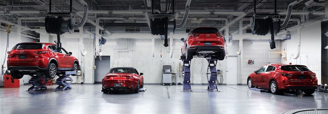 Mazda Service Center vehicle inspections