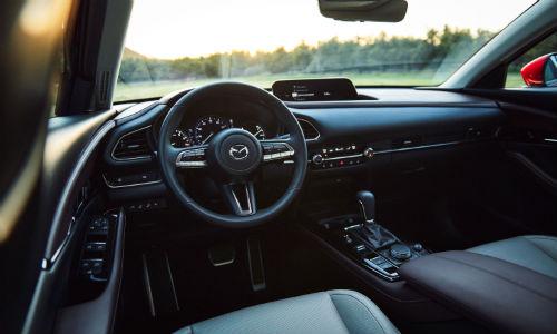 Interior view of 2020 Mazda CX-30