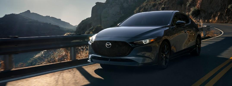 Grey 2021 Mazda3