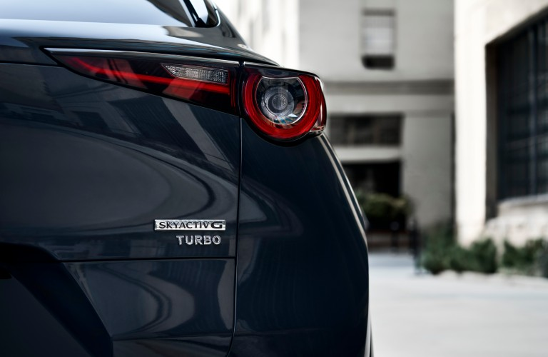 2021 Mazda CX-30 Turbo rear view