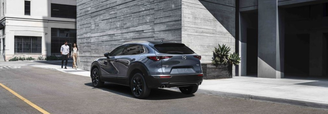 2021 Mazda CX-30 in a city