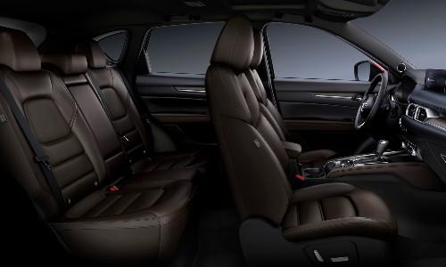 2021 Mazda CX-5 interior side view both rows