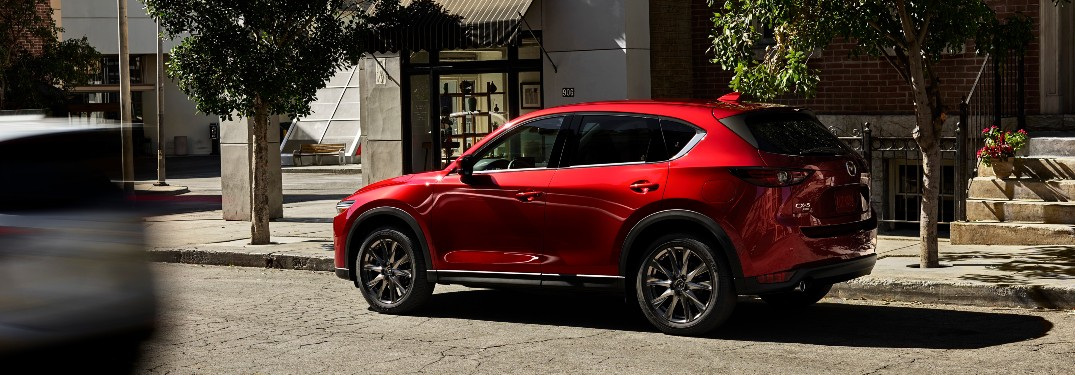 How Much Cargo Can I Store in the 2021 Mazda CX-5?