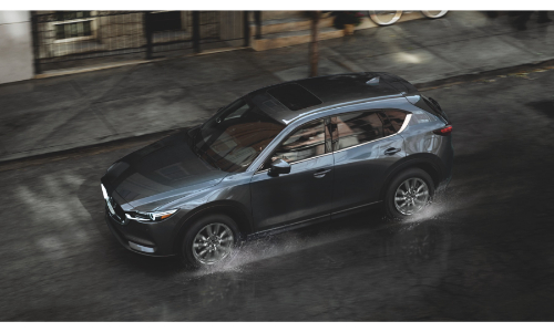 2021 Mazda CX-5 viewed from high angle