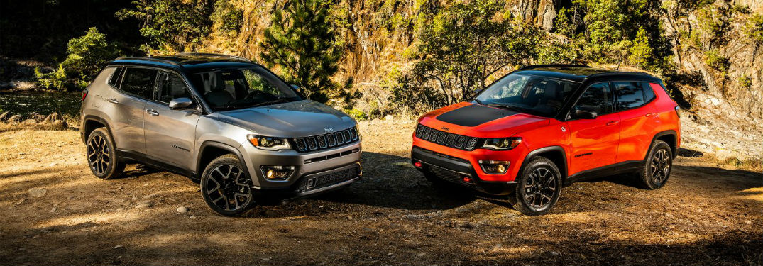 2018 Jeep Compass color options
