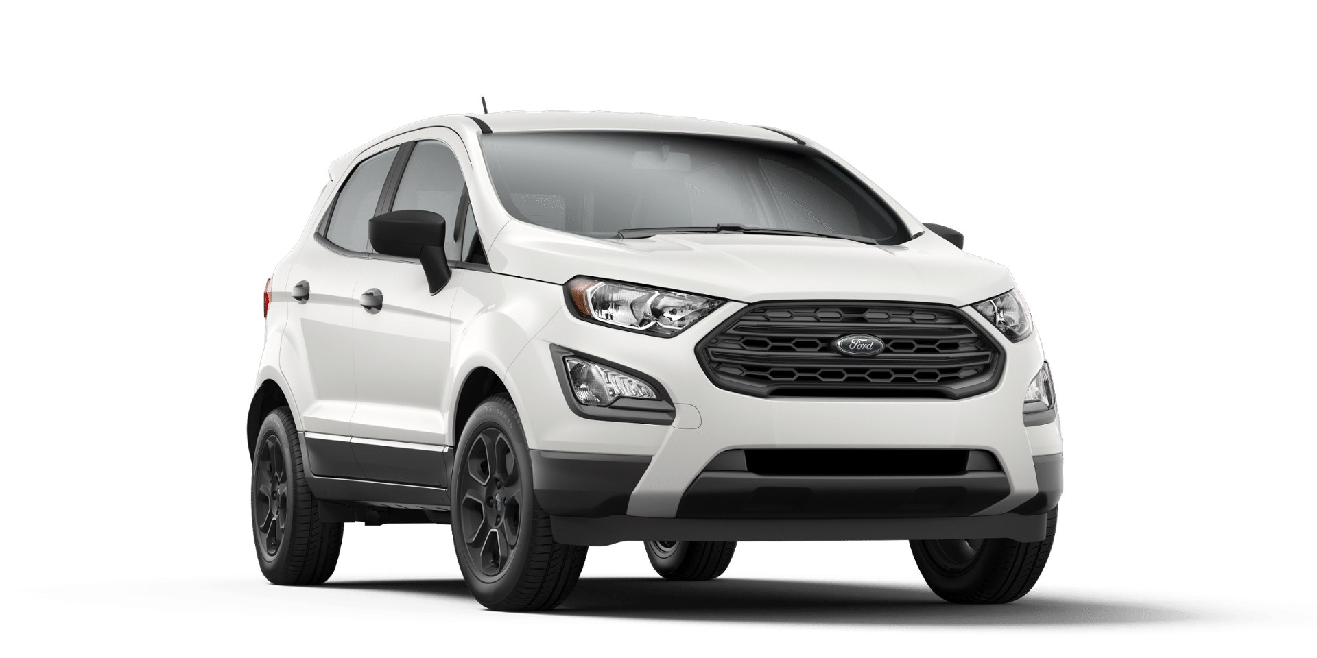 Ford Ecosport Diamond White Front View